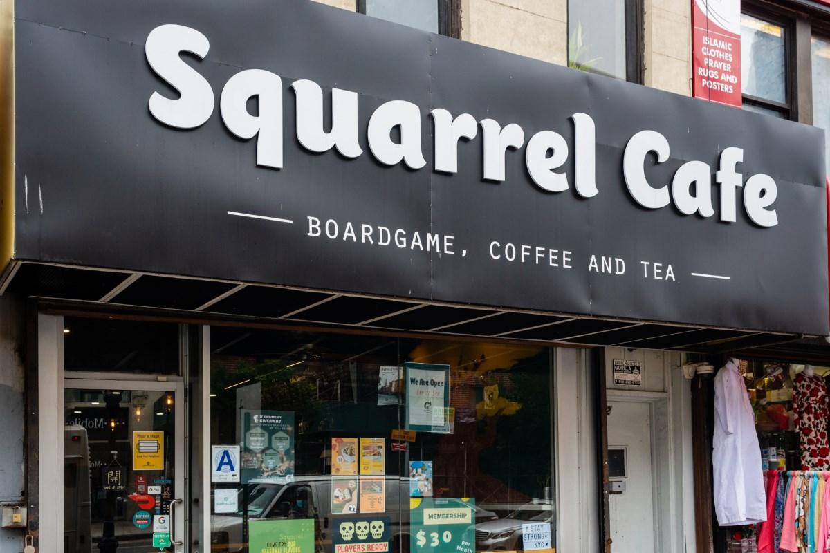 Dashible at Squarrel Cafe